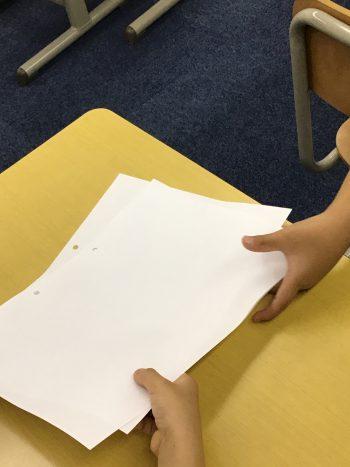 【レディネス通信】小学校入学に向けた「プリント送り」の練習